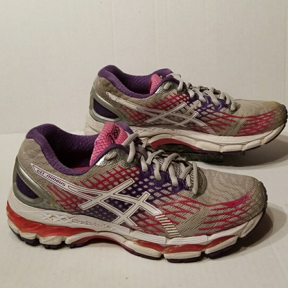 reputable site 6db0f ea917 Asics Gel-Nimbus 17 women's shoes size 7